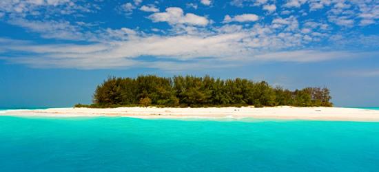 Aguas turquesas del Océano Índico