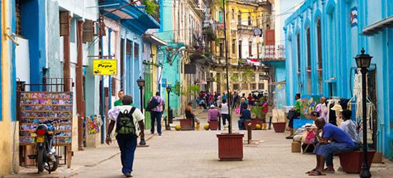 Calles coloridas de Cuba