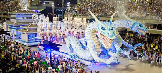 El Carnaval más grande del mundo, Río de Janeiro