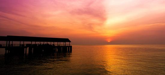 Jetty, Isla Tioman
