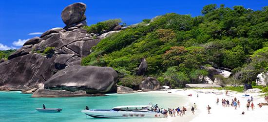 Similian Islas, Tailandia