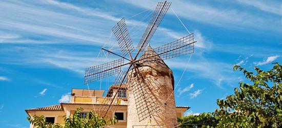 Molino Tradicional Palma