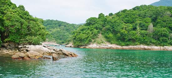 La Laguna Azul de Angra dos Reis