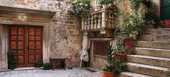 El casco antiguo histórico