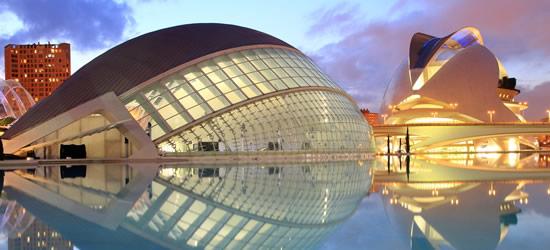 El Palacio de las Artes y L'Hemisferic, Valencia