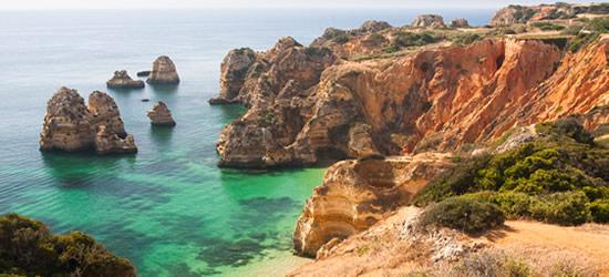 La espectacular costa del Algarve
