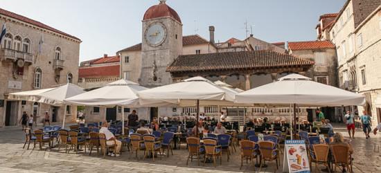 Plaza de la ciudad, Trogir