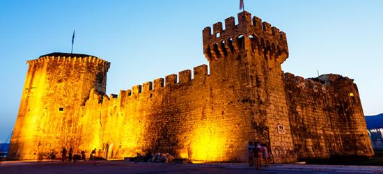 Castillo medieval de Kamerlengo, Trogir