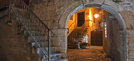 Patio Medieval, Trogir