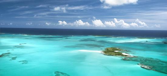 Bancos de arena e islas, Bahamas