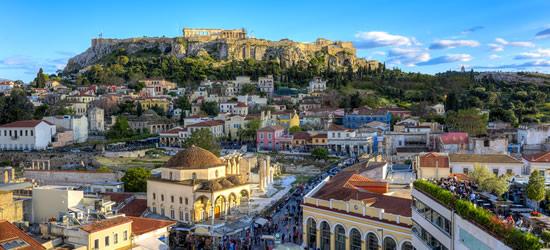 La Acrópolis, Atenas