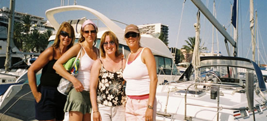 The Maple Girls, Marbella - July 2006